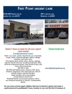 First Point Urgent Care Free Sports Physicals-1